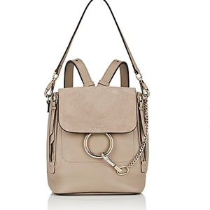 CHLOE Faye small backpack